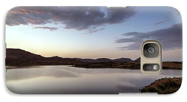 Lake In The Wichita Mountains  Galaxy S7 Case