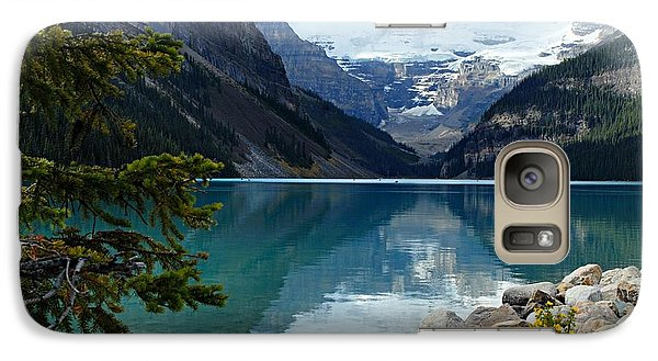 Mountain Galaxy S7 Case - Lake Louise 2 by Larry Ricker