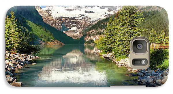 Galaxy Case featuring the photograph Lake Louise by Mary Jo Allen