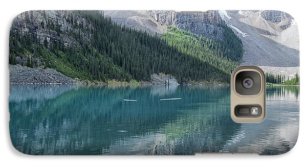 Galaxy Case featuring the photograph Lake Moraine by Patricia Hofmeester