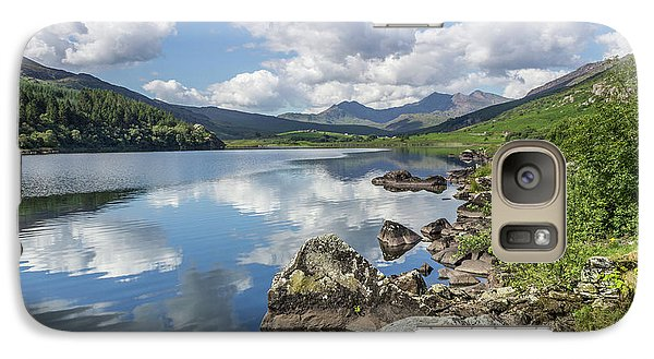 Galaxy Case featuring the photograph Lake Mymbyr And Snowdon by Ian Mitchell