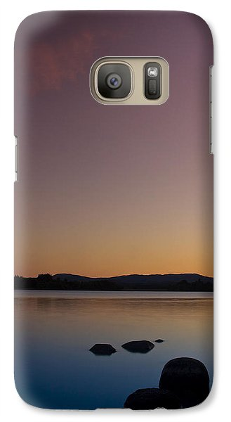 Galaxy Case featuring the photograph Lake Of Menteith By Sunset by Gabor Pozsgai