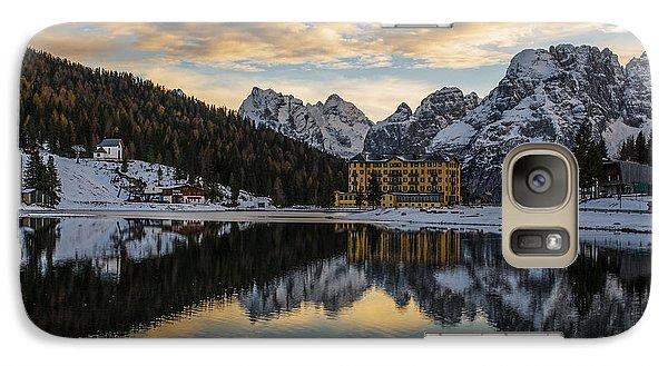 Galaxy Case featuring the photograph Lake Of Misurina by Yuri Santin