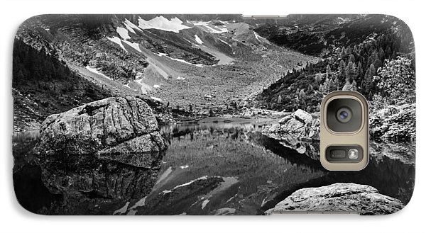 Galaxy Case featuring the photograph Lake Reflections by Yuri Santin