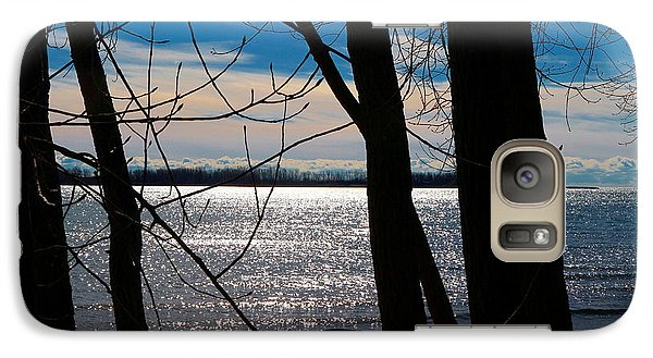 Galaxy Case featuring the photograph Lake Romance by Valentino Visentini