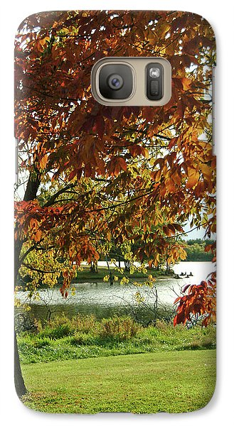 Galaxy Case featuring the photograph Lake Shore Afternoon by Michael Flood