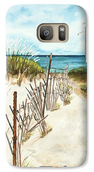 Galaxy Case featuring the painting Lake Superior Munising by Sandra Strohschein