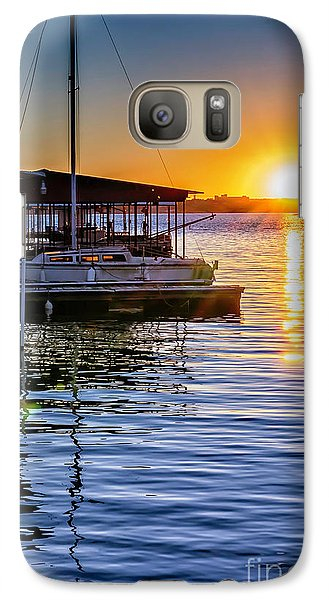 Galaxy Case featuring the photograph Lake Travis by Walt Foegelle