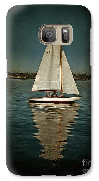 Lake Union Day Sailing Galaxy S7 Case