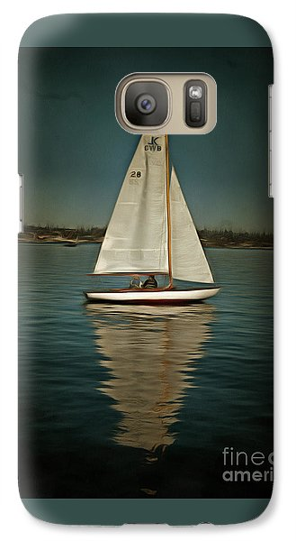 Galaxy Case featuring the photograph Lake Union Day Sailing by Susan Parish