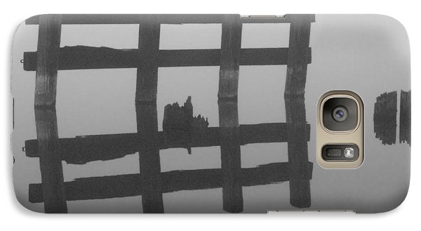 Galaxy Case featuring the photograph Lake Union Silhouette by Tom Vaughan
