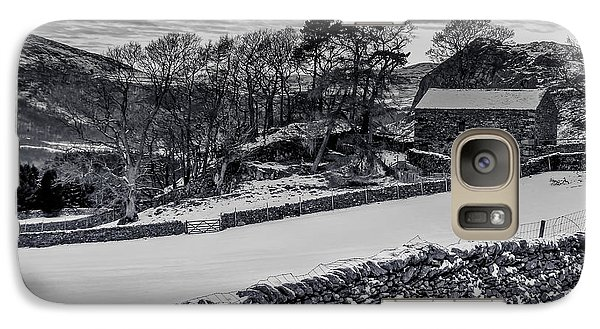 Galaxy Case featuring the photograph Lakeland Barn by Keith Elliott