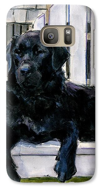 Galaxy Case featuring the painting Lakerfront by Molly Poole
