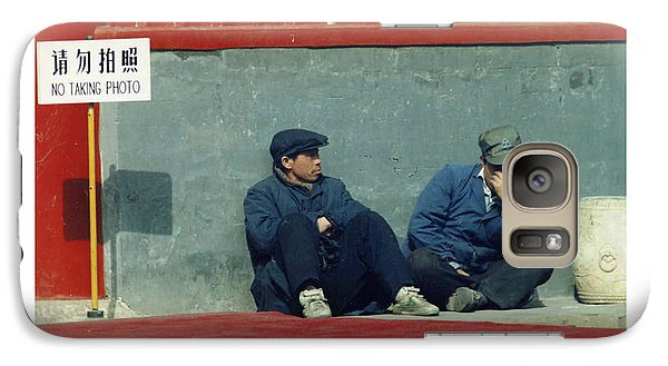 Galaxy Case featuring the photograph Lamasery by R Thomas Berner