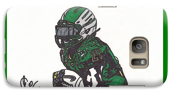 Galaxy Case featuring the drawing Lamicheal James 1 by Jeremiah Colley