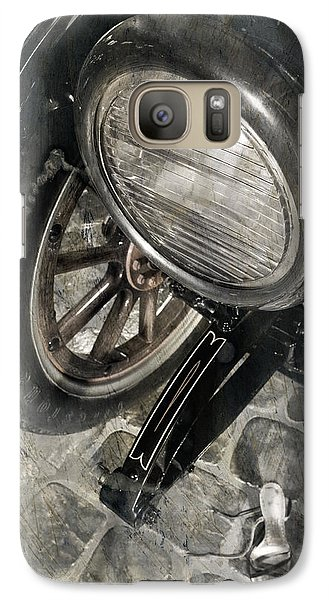 Galaxy Case featuring the photograph Vintage Car #3124 by Andrey  Godyaykin