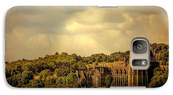 Galaxy Case featuring the photograph Lancing College by Chris Lord