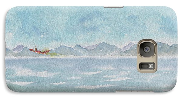 Galaxy Case featuring the painting Land Ahoy Cruising By Cuba by Pat Katz