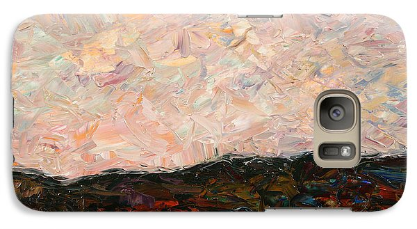 Land And Sky Galaxy Case by James W Johnson
