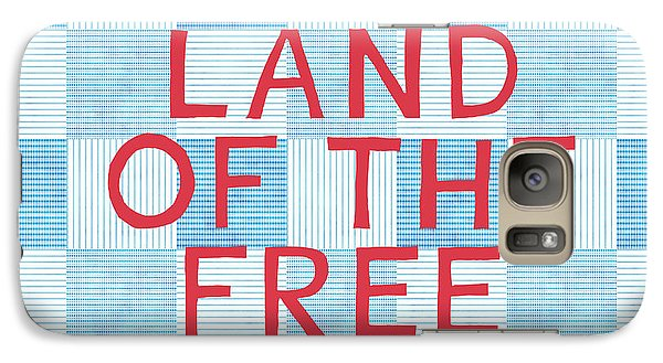 Land Of The Free Galaxy Case by Linda Woods