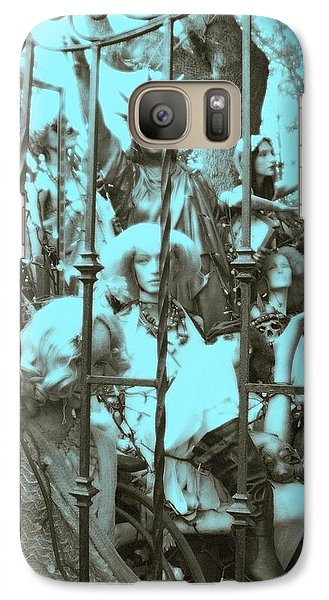 Galaxy Case featuring the photograph America Land Of The Free by Susan Carella