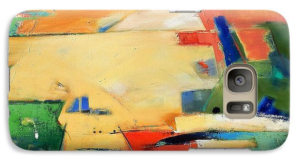 Galaxy Case featuring the painting Landforms, You've Never Been Here by Gary Coleman