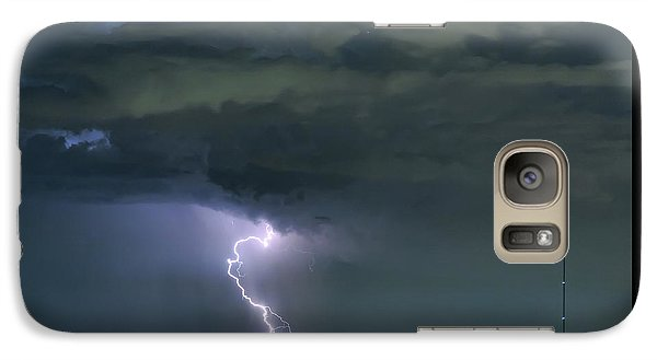 Galaxy S7 Case featuring the photograph Landing In A Storm by James BO Insogna