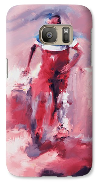 Landon Donovan 545 2 Galaxy S7 Case by Mawra Tahreem