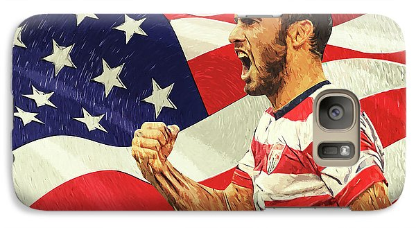 Landon Donovan Galaxy S7 Case by Taylan Apukovska