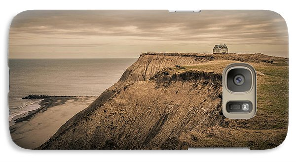 Galaxy Case featuring the photograph Land's End by Odd Jeppesen
