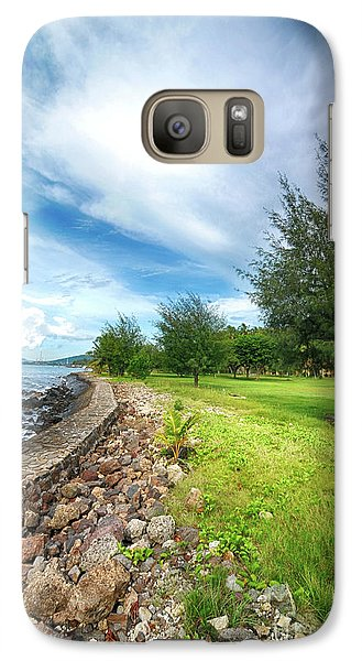 Galaxy Case featuring the photograph Landscape 2 by Charuhas Images