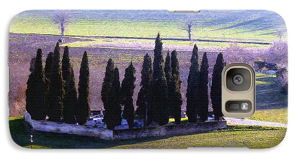 Galaxy Case featuring the photograph Landscape by Jean Bernard Roussilhe