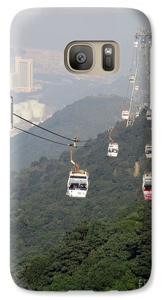 Galaxy Case featuring the photograph Lantau Island 53 by Randall Weidner