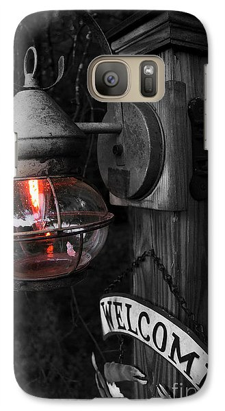 Galaxy Case featuring the photograph Lantern by Brian Jones
