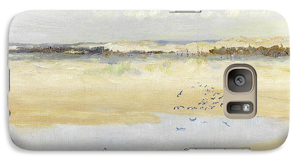 Lapwings By The Sea Galaxy S7 Case