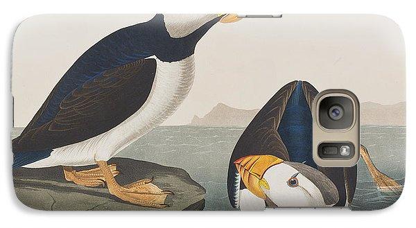 Puffin Galaxy S7 Case - Large Billed Puffin by John James Audubon