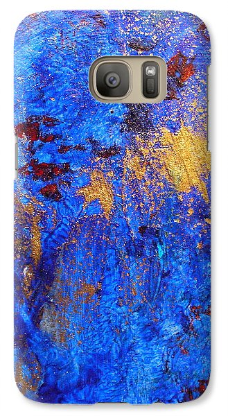 Galaxy Case featuring the painting Las Flores by Mary Sullivan