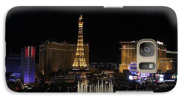 Las Vegas By Night Galaxy S7 Case