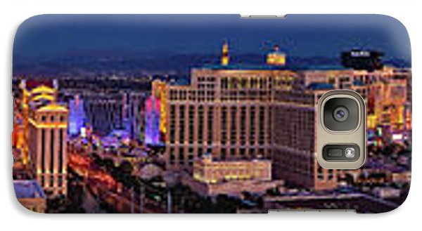 Galaxy Case featuring the photograph Las Vegas Panoramic Aerial View by Susan Candelario
