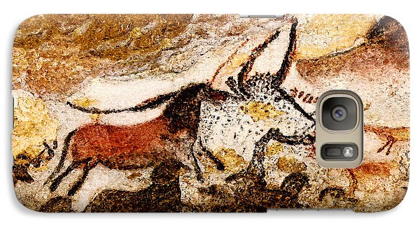 Lascaux Hall Of The Bulls - Horses And Aurochs Galaxy S7 Case