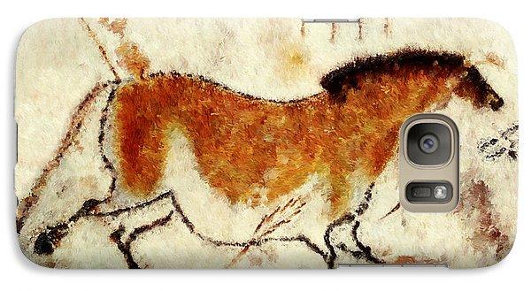 Lascaux Prehistoric Horse Galaxy S7 Case