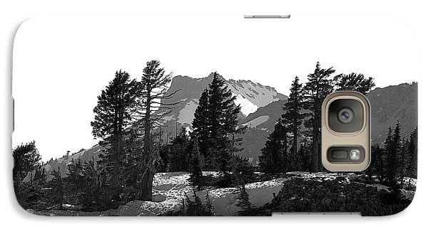 Galaxy Case featuring the photograph Lassen National Park by Lori Seaman