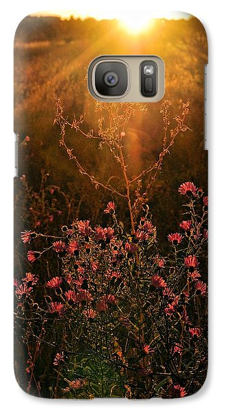 Galaxy Case featuring the photograph Last Glimpse Of Light by Jan Amiss Photography