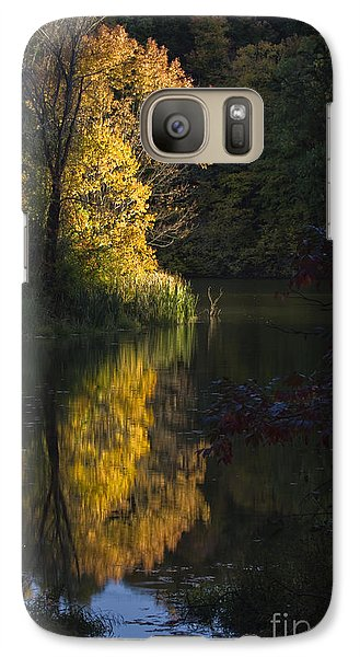 Galaxy Case featuring the photograph Last Light - D009910 by Daniel Dempster