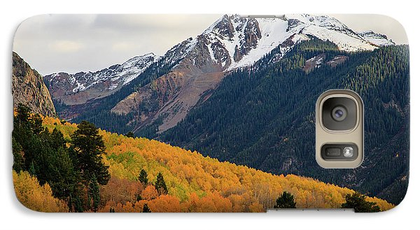 Galaxy Case featuring the photograph Last Light Of Autumn by David Chandler