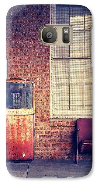 Galaxy Case featuring the photograph Last Pump Standing by Trish Mistric