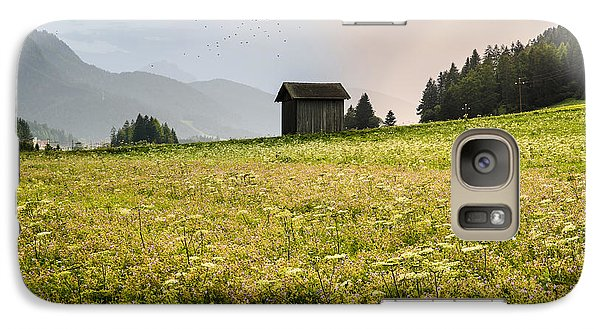 Galaxy Case featuring the photograph Last Rays On The Valley by Yuri Santin