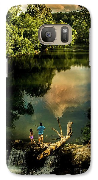 Galaxy Case featuring the photograph Last Seconds Of Summer by Robert Frederick