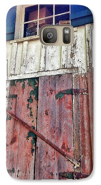 Galaxy Case featuring the photograph Last Train Gone by Olivier Calas