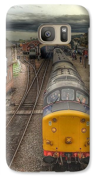 Galaxy Case featuring the photograph Last Train To Manuel by RKAB Works
